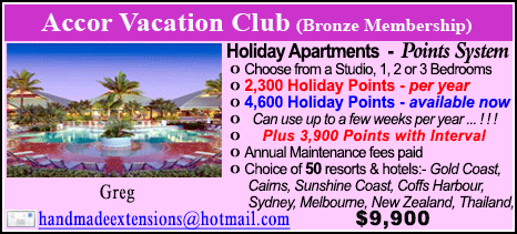 Accor Vacation Club - $9900