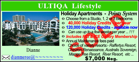ULTIQA Lifestyle - $7000 - SOLD