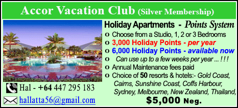Accor Vacation Club - $5000