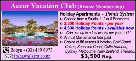 Accor Vacation Club - $3500
