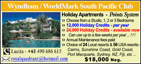 Wyndham Vacation Resorts - $18000