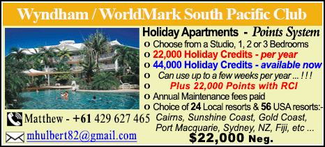 Wyndham Vacation Resorts - $22000