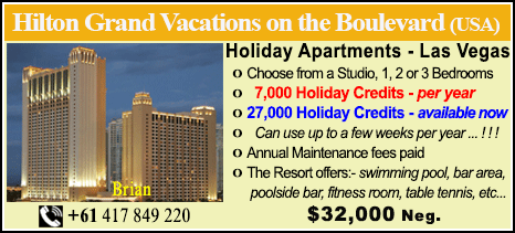 Hilton Grand Vacations on the Boulevard - $32000