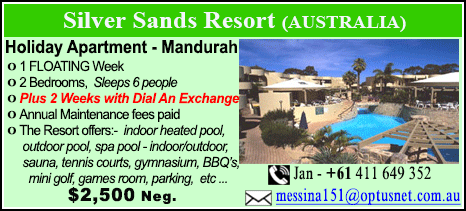 Silver Sands Resort - $2500