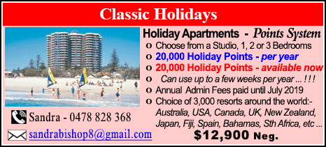 Classic Holidays - $12900