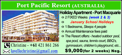 Port Pacific Resort - $9000