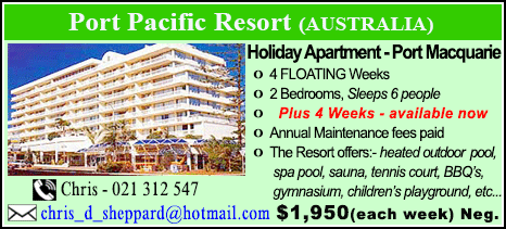 Port Pacific Resort - $1950