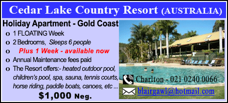 Cedar Lake Country Resort - $1000