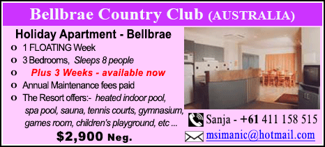 Bellbrae Country Club - $2900