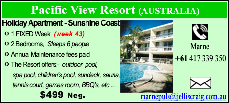 Pacific View Resort - $499