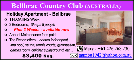 Bellbrae Country Club - $3400