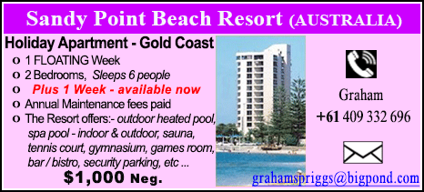 Sandy Point Beach Resort - $1000