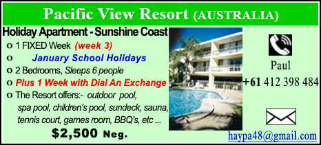 Pacific View Resort - $2500