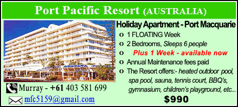 Port Pacific Resort - $990