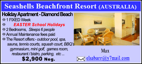 Seashells Beachfront Resort - 2900
