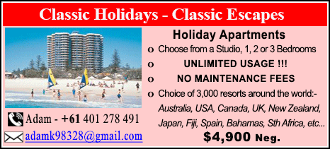 Classic Holidays - $4900