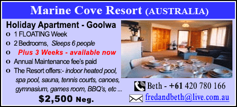 Marine Cove Resort - $2500