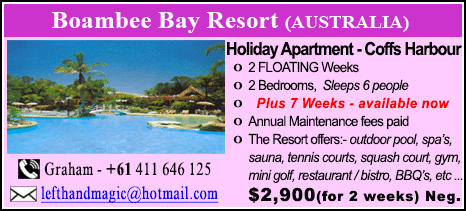 Boambee Bay Resort - $2900