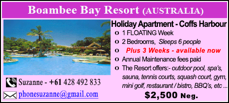 Boambee Bay Resort - $2500