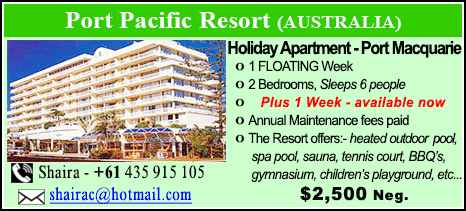 Port Pacific Resort - $2500