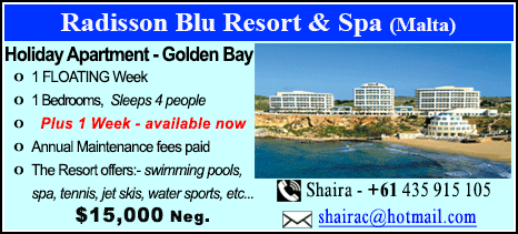 Radisson Blu Resort - $15000