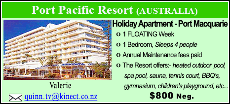 Port Pacific Resort - $800