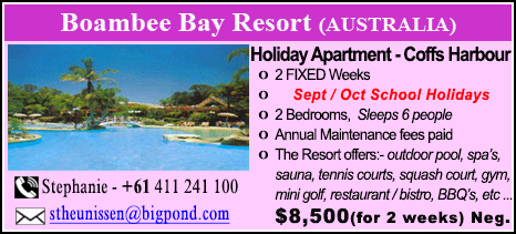 Boambee Bay Resort - $8500