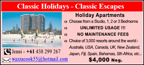 Classic Holidays - $4000