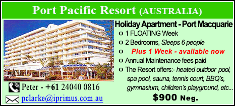 Port Pacific Resort - $900