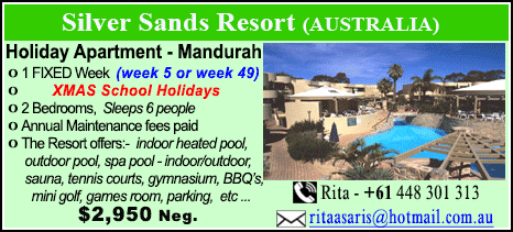 Silver Sands Resort - $2950