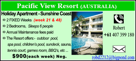 Pacific View Resort - $900