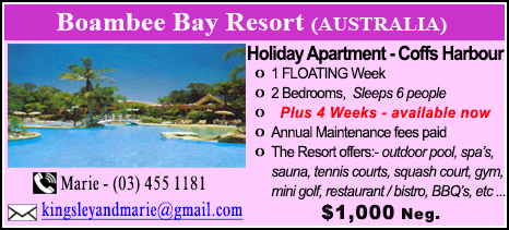 Boambee Bay Resort - $1000