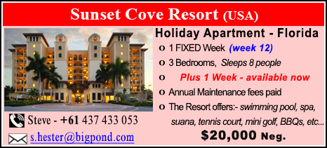 Sunset Cove Resort - $20000