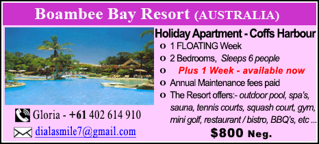 Boambee Bay Resort - $800