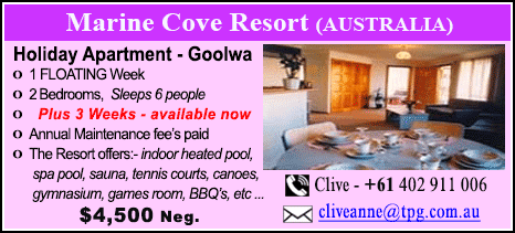 Marine Cove Resort - $4500