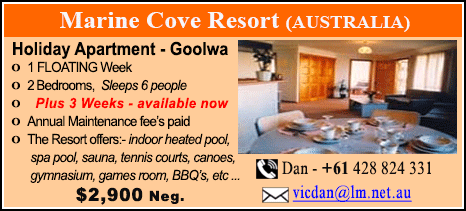 Marine Cove Resort - $2900