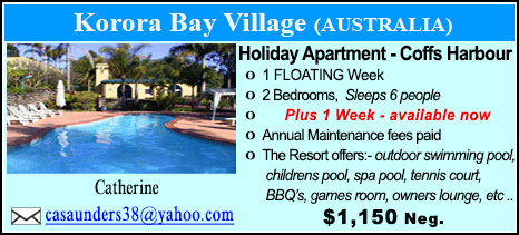 Korora Bay Village - $1150