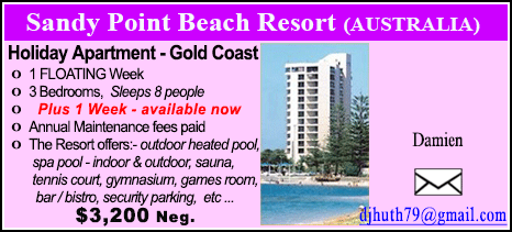 Sandy Point Beach Resort - $3200