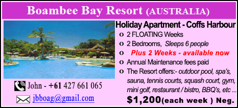 Boambee Bay Resort - $1200