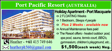 Port Pacific Resort - $1500