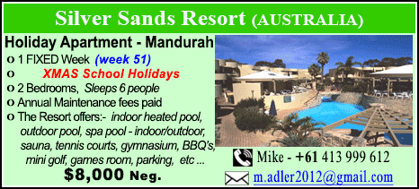 Silver Sands Resort - $8000