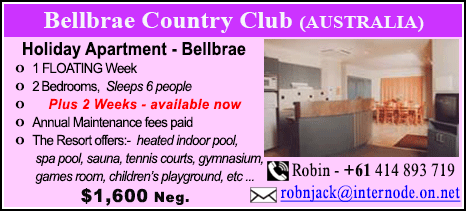 Bellbrae Country Club - $1600
