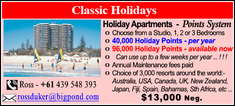 Classic Holidays - $13000