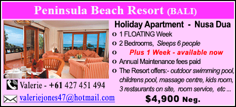 Peninsula Beach Resort - $4900