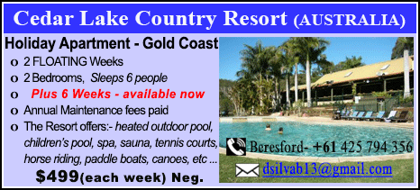 Cedar Lake Country Resort - $499