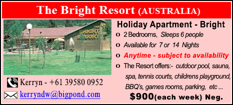 The Bright Resort - $900