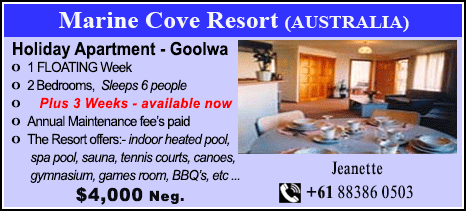 Marine Cove Resort - $4000
