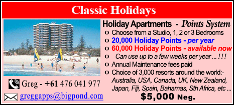 Classic Holidays - $5000