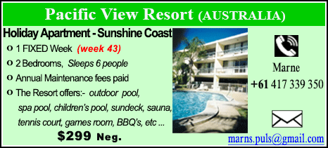 Pacific View Resort - $299