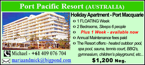 Port Pacific Resort - $1200